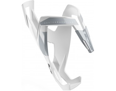 Elite Custom Race Plus bottle cage white/grey soft touch