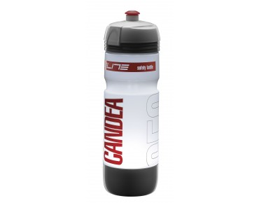 Elite Candea LED Trinkflasche transparent-rot