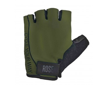 ROSE LYCRA gloves army