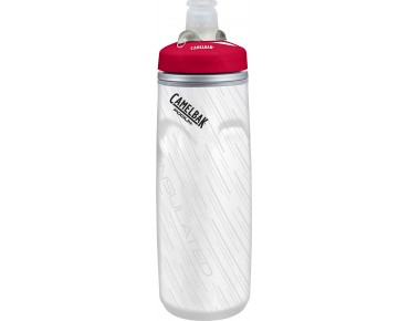 CamelBak Podium Big Chill bidon 620 ml / 750 ml wit/rood