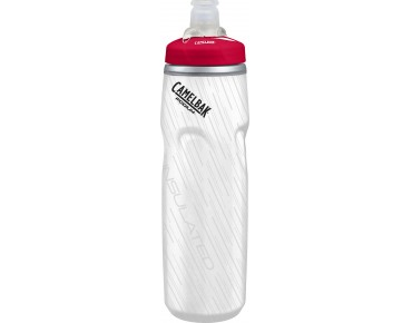CamelBak Podium Big Chill 620 ml / 750 ml drinks bottle white/red