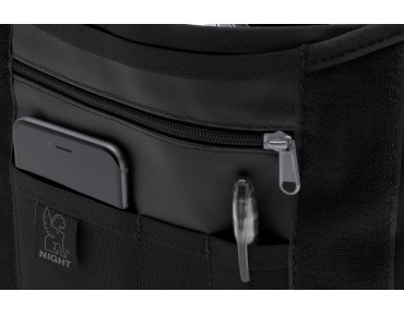 CHROME MINI METRO messenger bag night/black