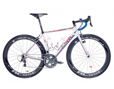 ROSE X-LITE CRS 3000, Gr. 50cm, Mod. 2016, Neurad shiny-white/red-blue