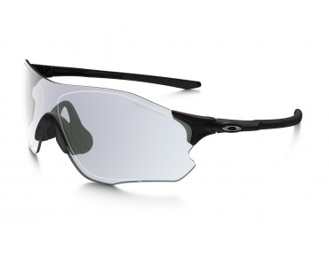 OAKLEY EVZERO PATH Sportbrille polished black/clear to black photochromic