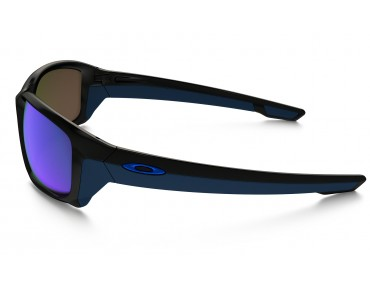 OAKLEY STRAIGHTLINK Brille polished black w/sapphire iridium