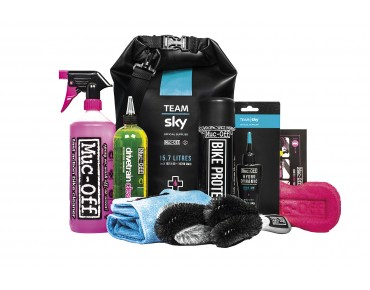 Muc-Off Team Sky Dry Bag Kit Reinigungsset