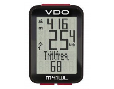 VDO M4.1 WL  bike computer - wireless -