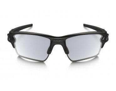 OAKLEY FLAK 2.0 XL - occhiali polished black/clear to black photochromic