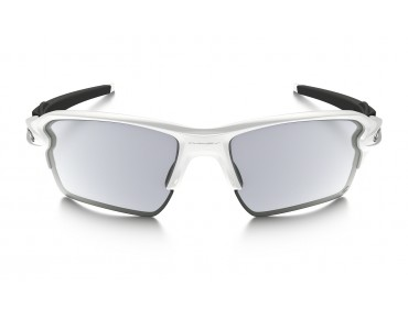 OAKLEY FLAK 2.0 XL Brille polished white/clear to black photochromic
