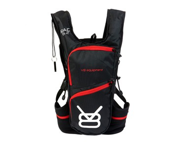 V8 RAC 6.2 hydration pack incl. 1,5 L bladder black/red