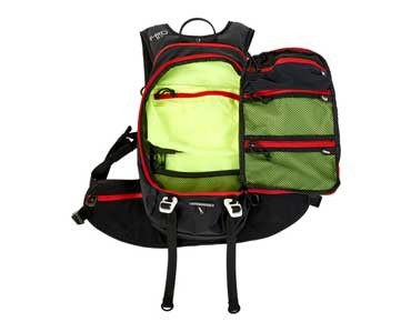 V8 FRD 11.1 Rucksack black/red