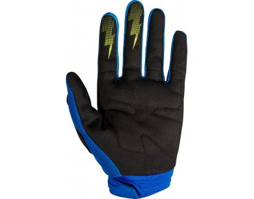 FOX DIRTPAW RACE gloves blue