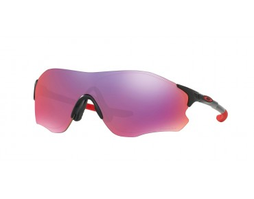 OAKLEY EVZERO PATH Sportbrille polished black w/prizm road