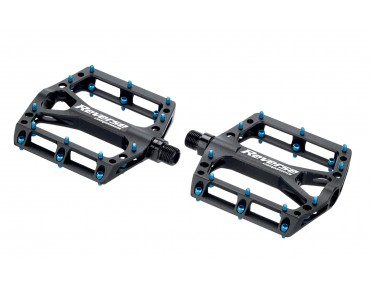Reverse Black ONE pedals black/light blue