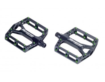 Reverse Black ONE pedals black/light green