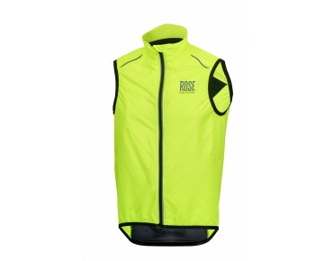 ROSE VENTILATION wind vest fluo yellow