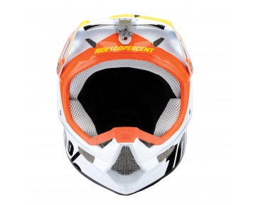 100% THE STATUS full face helm D-Day White