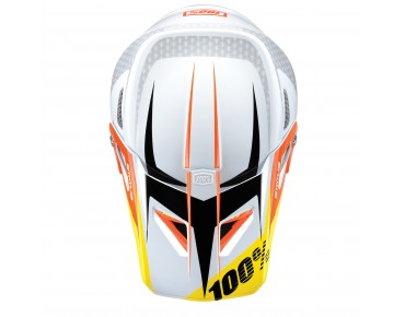 100% THE STATUS full-face helmet D-Day White
