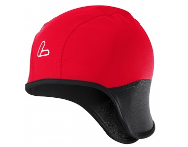 Löffler GORE WINDSTOPPER SOFTSHELL WARM helmet hat red