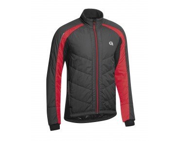 GONSO BOND THERMO-ACTIVE jacket black/fire