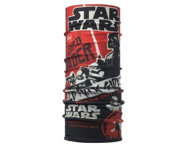 BUFF POLAR functional scarf galaxy tour red/black