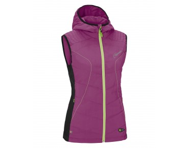 GONSO DESTIN PRIMALOFT women's gilet purple wine