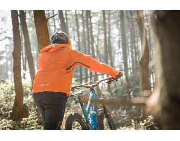 ENDURA MT500 II waterproof jacket burnt orange