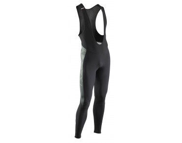NORTHWAVE DYNAMIC COLORWAY bib tights black/forest/orange lobster