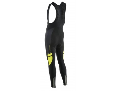 NORTHWAVE DYNAMIC COLORWAY bib tights black/yellow