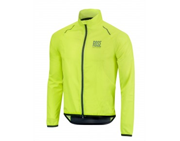 ROSE VENTILATION windbreaker fluo yellow