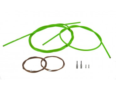 SHIMANO Dura Ace brake cable kit, polymer-coated for BR-9000 green