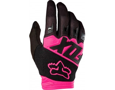 FOX DIRTPAW RACE gloves black/pink