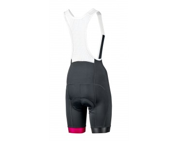 ROSE HIGH END women's bib tights black/teaberry