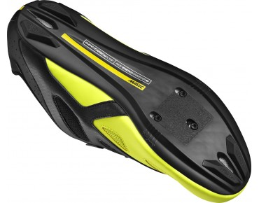 MAVIC COSMIC ELITE road shoes black/black/safety yellow