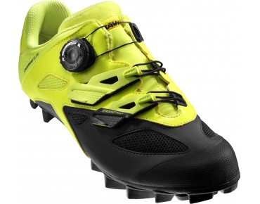 MAVIC CROSSMAX ELITE MTB shoes safety yellow/black