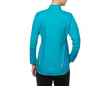 VAUDE DROP JACKET III waterproof jacket for women cyan