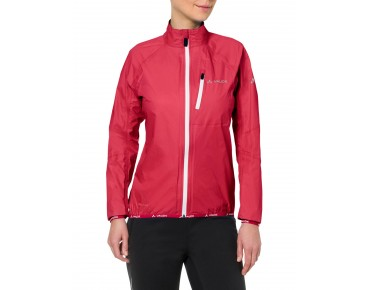 VAUDE DROP JACKET III waterproof jacket for women strawberry