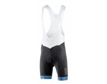 ROSE BLACK HIGH END bib shorts black/blue
