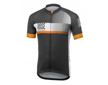ROSE TOP CYW short-sleeved jersey black/white/orange