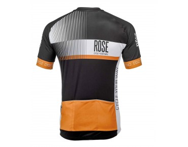 ROSE TOP CYW Trikot Kurzarm black/white/orange