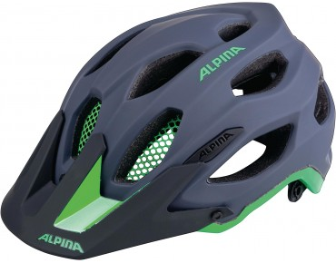ALPINA CARAPAX - casco MTB charcoal/green