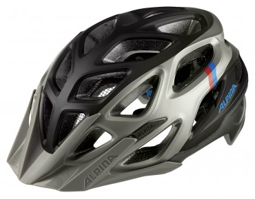 ALPINA MYTHOS 3.0 LE MTB helmet darksilver/blue/red