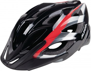 ALPINA SEHEOS Helm black/red/white