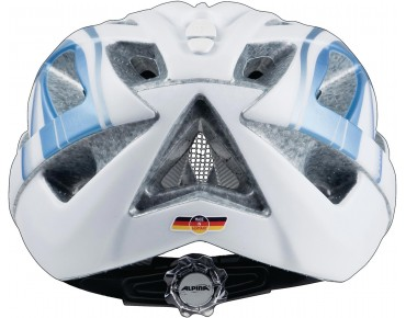 ALPINA PANOMA LE helmet white/blue metallic