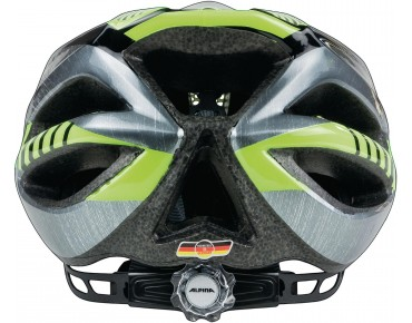 ALPINA FB JUNIOR 2.0 kids' helmet black/steelgrey/neon