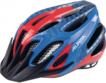 ALPINA FB JUNIOR 2.0 kids' helmet red/blue