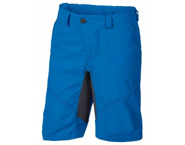 VAUDE GRODY SHORTS IV kids' cycling shorts radiate blue