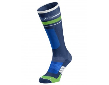 VAUDE LONG BIKE SOCKS sailor blue/white