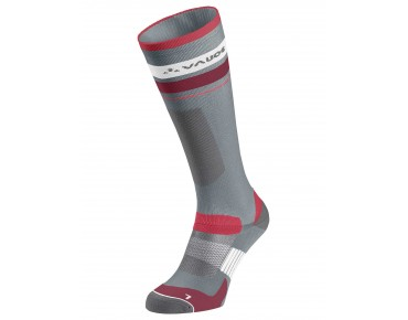VAUDE LONG BIKE SOCKS pewter grey