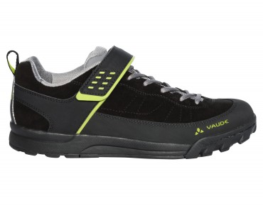 VAUDE MOAB LOW AM flat pedal shoes phantom black